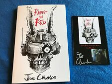 RABBIT IN RED by JOE CHIANAKAS paperback book With SIGNED Free Download Card