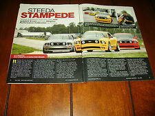 2008 STEEDA MUSTANG    ***ORIGINAL ARTICLE***