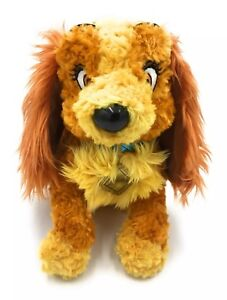 """Dog Spaniel Soft Toy Comforter Lady and The Tramp 12"""" Disney New With Tag"""