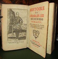 Histoire de Charles XII roi de suede ' Cramer à Geneve (1760) - Voltaire (EO)