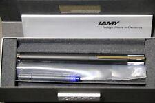 lamy Scala black fountian pen 1.5mm Italic nib