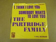 45T SINGLE / THE PARTRIDGE FAMILY - I THINK I LOVE YOU