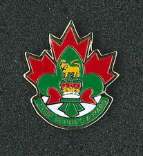 SCOUTS OF CANADA - CANADIAN CHIEF SCOUT'S Higher Rank Metal Award Pin Patch