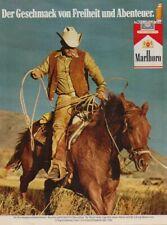 Marlboro Zigaretten - Reklame Werbeanzeige Original-Werbung 1981 (1)