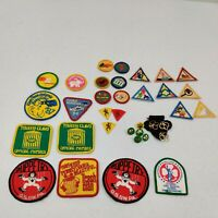Vintage 1980's Girl Scouts  Patches, Badges, Membership Pins