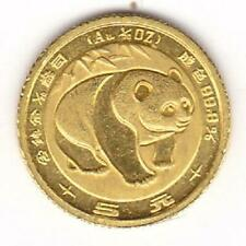 1983 China 5 Yuan 1/20th Oz GOLD PANDA