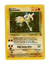 Pokemon Hitmonlee Fossil Unlimited Holo Rare B