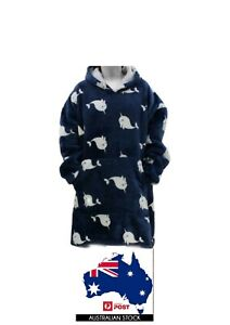 Oversized Oodie  Blanket/ Plush /Warm/ Big Fleece Soft Winter Pullover