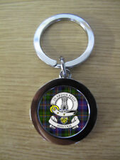 MALCOLM CLAN KEY RING (METAL) IMAGE DISTORTED TO PREVENT INTERNET THEFT