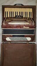 Akkordeon Ziehharmonika Musik Alt Musikinstrument mit Koffer