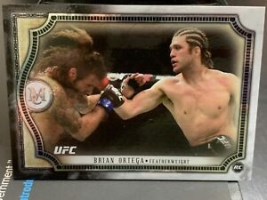 Topps UFC Museum Collection Brian Ortega Rookie