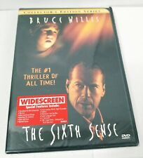 New Sealed The Sixth Sense Collectors Edition Series Dvd Bruce Willis