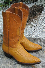 Exotic Black Jack Alligator Men's Handmade Cowboy Boots Made in USA