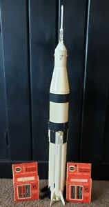 Vintage Cox Model Rocket with Two Boxes of Cox Rocket Engines
