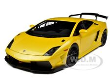 LAMBORGHINI GALLARDO LP560-4 SUPER TROFEO YELLOW 1/18 MODEL CAR AUTOART 74687