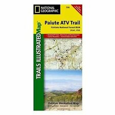 National Geographic Trails Illustrated Utah Paiute ATV Trail Map 708