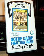 COLLEGIATE COLLECTION FIRST EDITION NOTRE DAME FIGHTING IRISH TRADING CARDS box