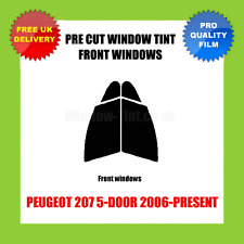 PEUGEOT 207 5-DOOR 2006-PRESENT FRONT PRE CUT WINDOW TINT KIT