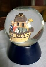 Vintage Noah'S Ark Musical Snow Globe ~ Dansk Int'l Design Inc.