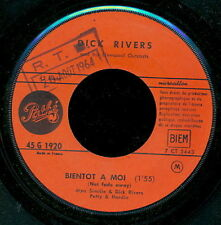 DICK RIVERS 45 TOURS FRANCE PLUS JAMAIS