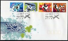 2006 Australia Extreme Sports Set Of 4 First Day Cover, Mint Condition
