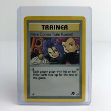 Holo Here Comes Team Rocket! Trainer Pokemon Card 15/82 1999-2000 Wizards - Good