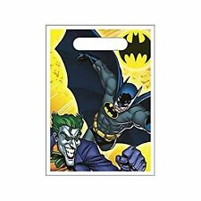 Batman Treat Sacks Loot Bags Dark Knight Joker Birthday Party Supplies Hallmark