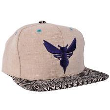Charlotte Hornets Hemp Crown Snapback Hat Mitchell Ness Strapback Licensed NBA
