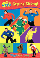 THE WIGGLES GETTING STRONG CHILDREN'S DVD MOVIE 17 SONGS WIGGLE AND LEARN