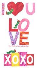 """Andover A Very Hungry Caterpillar I Love You by Eric Carle A 8335 R 24"""" Panel"""