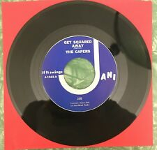 THE CAPERS ~ Get Squared Away ~ NW garage/psych (NM) ~JANI