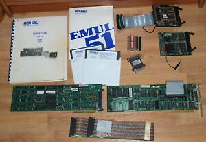 NOHAU EMUL51-PC EMUL31 FULL SET EMULATOR 8051 / 8031 w ACCESSORIES