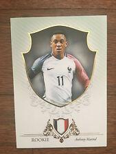 2016 Unique Futera Soccer Card - France MARTIAL Mint
