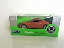 🚓 WELLY NEX Scale Model 1:60 TOYOTA GT 86