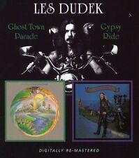 Les Dudek - Ghost Town Parade / Gypsy Ride [New CD] Rmst, Slipsleeve Packaging