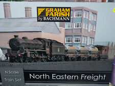 Graham Farish 370-090 North Eastern Freight Train Set BNIB