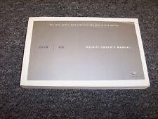 2008 Infiniti G35 Owner Owner's Operator User Guide Manual Sport Journey 3.5L V6