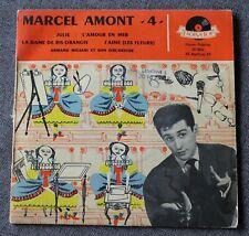 Marcel Amont, Julie + 3, EP - 45 tours