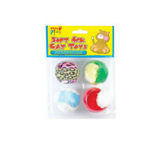 Soft Balls Cat Toys 4 Pack