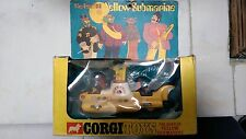 Very Rare 1968 Diecast Corgi Beatles Yellow Submarine. In Original Box