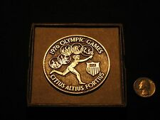 1976 Montreal Innsbruck Olympic Medal Torchbearer