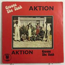 AKTION - GROOVE THE FUNK - CLOVER - AFRO FUNK BEAT PSYCH LP VG RARE ORIG