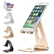 Cell Phone Tablet Switch Stand Aluminum Desk Table Holder for iPhone Universal