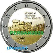 """2 Euro COINCARD Gedenkmünze Malta 2018 """"Mnajdra"""" Mit Munzzeichen MDP VVK !"""