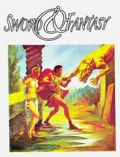 New in 2017: SWORD & FANTASY #13 - pulp fanzine H.P. Lovecraft, Robert E. Howard