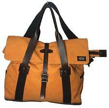 Jack Spade Work Twill Swiss Orange Flap Men's Bag