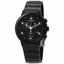 Citizen AT2405-87E para Hombre de Acero Negro Reloj Eco-drive