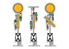 Märklin Modellbahnen der Spur H0 mit Unbemalt Signale-ohne Angebotspaket