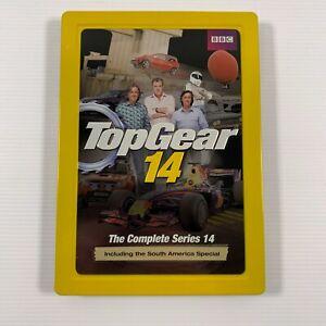 Top Gear : Series 14 (DVD 2011 3 disc set) Steelbook edition Region 4