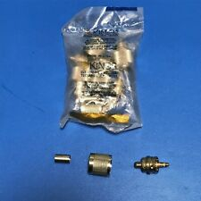 NOS: Lot of 5 KINGS KU-59-45 PL259 UHF connectors for RG59 RF Coax Cable Ham CB